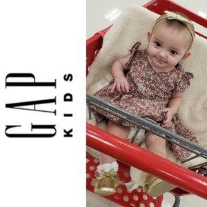 Baby GAP Floral Wrap Dress